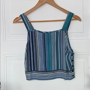 Band of Gypsies tank top medium striped blouse